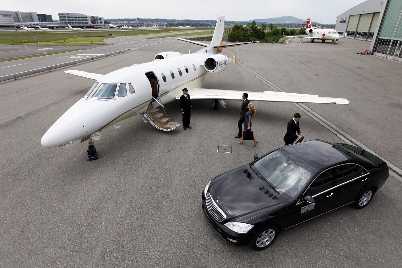 Recogida en jet privado. Centros Desintoxicación Exclusivos