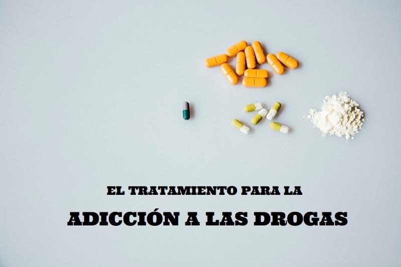 El tratamiento para la adicción a las drogas.