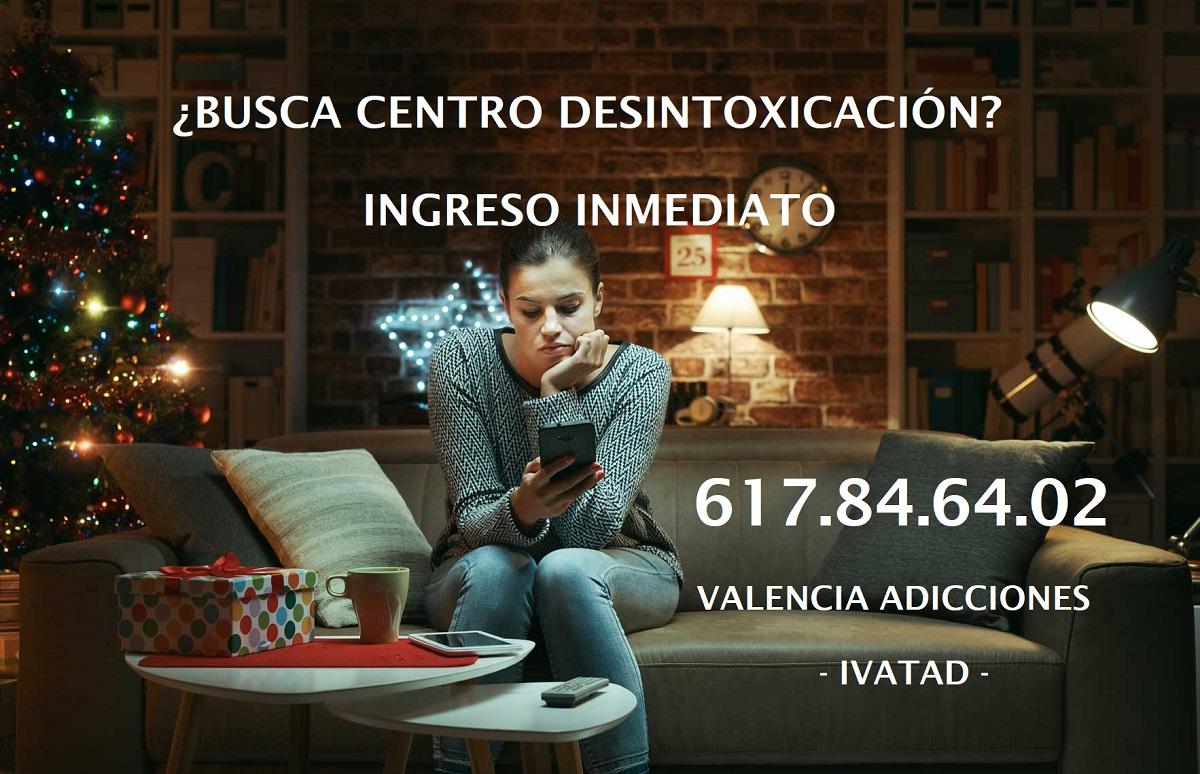 Centro Desintoxicación Valencia Adicciones. Ivatad.