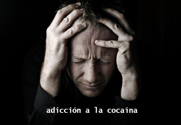adicción a la cocaína