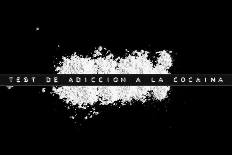 Con el test de adiccion a la cocaina puedo saber si soy adicto a la cocaina.